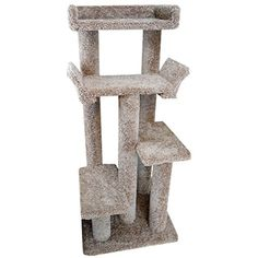 New Cat Condos 110116-Brown Unique Cat Playground ** Click image to review more details. (This is an affiliate link) #Cats