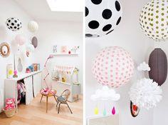 Finalement, ces lampes boules en papier japonais sont comme un tableau blanc sur lequel chacun(e) peut se laisser emporter par son inspiration. En voici un petit tour d'horizon ... Via 1. French by Design 2. Lisanne van de Klift 3. Méchant Design 4. La...