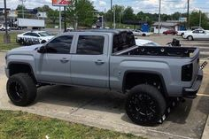 jacked up trucks chevy Lifted Chevy Trucks, Jeep Truck, Gmc Trucks, Diesel Trucks, Cool Trucks, Pickup Trucks, Jeep Pickup, Lifted Ford, Dodge Diesel