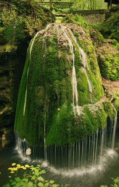 Waterfall in Transylvania, Romania