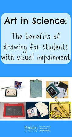 Explore the benefits of drawing and get ideas for using art in the science classroom with students who are blind or visually impaired. Science Projects For Kids, Science Activities For Kids, Science Experiments Kids, Science Classroom Decorations, Classroom Themes, Science Room, Science Art, Fiction Books For Kids, Science Clipart