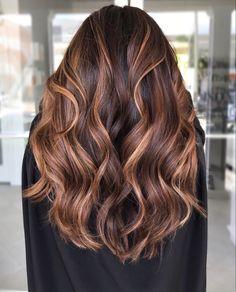 Dark Brunette Balayage Hair, Balayage Hair Caramel, Hair Color Caramel, Hair Color Balayage, Chocolate Caramel Hair, Dark Caramel Hair, Brown Bayalage, Caramel Hair Highlights, Dark Balayage