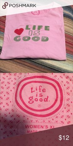 Life Is Good Long Sleeved T-shirt Super Soft T-shirt. Very comfortable. Life is Good Tops Tees - Long Sleeve