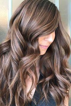 brunette with blonde highlights