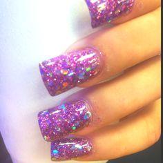 Nails, coffin shape nails, bright nails, finger nail art, french tip nails Gorgeous Nails, Love Nails, How To Do Nails, Pretty Nails, My Nails, Solar Nails, Plain Nails, Cute Nail Art Designs, Finger Nail Art