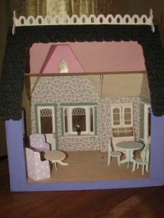 Dollhouse 014.jpg - Storybook Cottage - Gallery - The Greenleaf Miniature Community