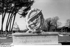 Italy, the 2nd Cemetery Fallschirmjäger-Division.
