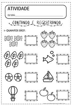 Writing Practice Worksheets, Kindergarten Math Worksheets, Learning Activities, Preschool Activities, Community Helpers Worksheets, Nursery Worksheets, Math For Kids, Teaching Kids, Preschool Literacy Activities