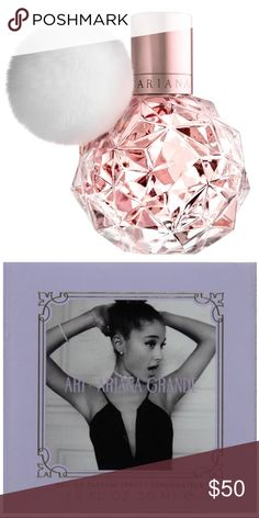 💜Ariana Grande Eau de Parfum Spray💜 NEW The Ariana Grande Eau de Parfum Spray for Women, 1 oz, helps you to smell like a pop star. It features such tantalizing notes as crispy pear, pink grapefruit, juicy raspberry, soft muguet, rose buds, vanilla orchid, marshmallow, creamy musk and blonde woods to mix into an intoxicating scent. This Ariana Grande parfum comes in a compact size that's easy to carry in a purse so you can have it on hand wherever you go. It's suitable for wearing to a…