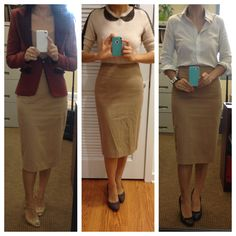 BNWT Very Sexy Pencil Knee Length Skirt Office Business Look Style ...