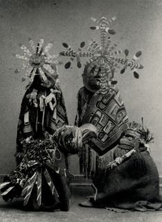 Bella Coola Indians. Ceremonial Dance from the Winter Cycle. 1885.