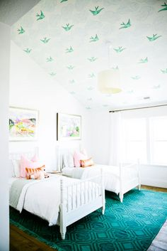 unexpected ways to style your ceiling | domino.com