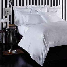 Frette at Home Tiber Duvet Cover in White