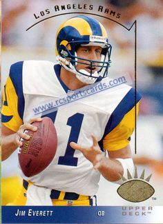 1993 Jim Everett, Rams Cards at http://www.rcsportscards.com/rams-1992---1994.html