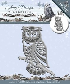 Amy Design - Wintertide - Die - Owl