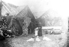 Shade house at a Toowoomba residence, ca. 1889John Oxley Library, State Library of Queensland, Neg: 138763   thefashionarchives.org