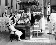 Christmas in the Ward, Bellevue Hospital, 1920