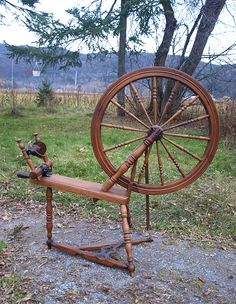 Canadian Production Spinning Wheel