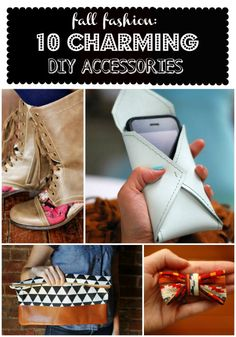 Cute fall DIY accessories!