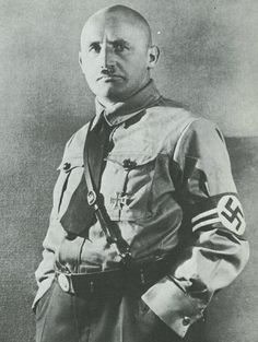Julius Streicher - founder/publisher of the infamous Der Sturmer, sentenced to death for crimes against humanity