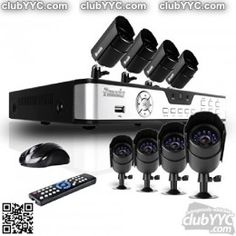 A home security system is essential today! Protect your family,yourself and your property with the latest security system and camera surveillance equipment available today! Dvr Security System, Wireless Home Security Systems, Safety And Security, Security Camera, Security Alarm, Surveillance Equipment, Security Surveillance, Surveillance System, Camera Surveillance