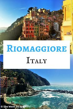 Riomaggiore is one of the five fishing villages in the Cinque Terre, with a picturesque coastline of colorful buildings built onto the gently sloping hill.