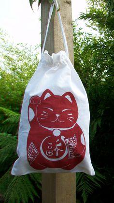 Shoe bag Cat kawaii