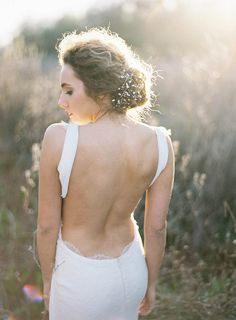Sultry Katie May wedding dress | Photo by Ashley Kelemen | Read more - http://www.100layercake.com/blog/?p=73094