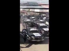 Manifestantes superan represión policiaca