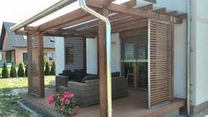 Deck With Pergola, Pergola Patio, Backyard Patio, Gazebo, Outdoor Lounge, Outdoor Spaces, Outdoor Living, Summer Deco, Garden Design
