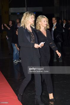 Photo d'actualité : Alice Taglioni and Virginie Efira attend the...