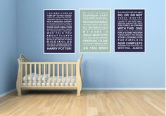 Movie quotes set 3  A5 subway wall art prints  Star by HarperGrace, $22.95