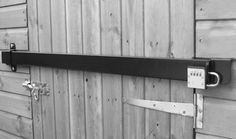 shed double door security | Other Shed security brackets ...