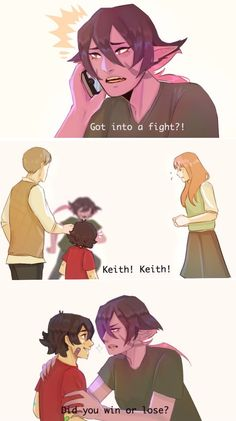 This would definitely be Krolia #Voltron