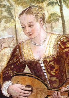 The Venetian Look in The Titian and Veronese Era (1541 - 1570) - Venus' Wardrobe Ohr Johannesknabe