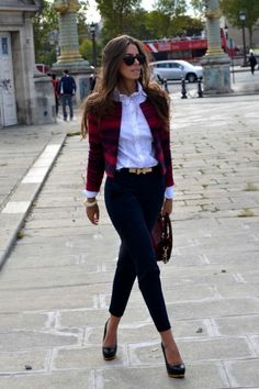 34 Inspiring Business Casual Outfit Ideas for Women To Copy Now An over-the-top outfit isn't acceptable at work. Earlier, casual outfits were intended to be worn just on weekends. Casual Work Outfits in Simple Style There are a lot of… Continue Reading → Best Business Casual Outfits, Casual Work Outfits, Office Outfits, Work Attire, Work Casual, Casual Chic, Fall Outfits, Ladies Outfits, Summer Outfits