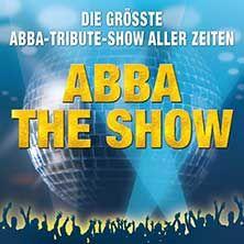 A Tribute to ABBA - THE SHOW // 03.03.2015 - 29.03.2015  // 04.03.2015 20:00 HANNOVER/Swiss Life Hall // 05.03.2015 20:00 KIEL/Sparkassen-Arena-Kiel // 06.03.2015 20:00 KÖLN/LANXESS arena // 07.03.2015 20:00 DÜSSELDORF/Mitsubishi Electric HALLE // 08.03.2015 19:00 NEU-ULM/ratiopharm arena // 10.03.2015 20:00 VILLINGEN-SCHWENNINGEN/Helios Arena // 11.03.2015 20:00 PASSAU/Dreiländerhalle // 12.03.2015 20:00 INGOLSTADT/Saturn - Arena // 13.03.2015 20:00 AUGSBURG/Schwabenhalle Augsburg // ...