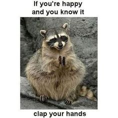if you're happy and you know it clap your hands!  God said He was pleased and it was good when He looked at all He had created!  Sing this verse...make up more about creation if you can!
