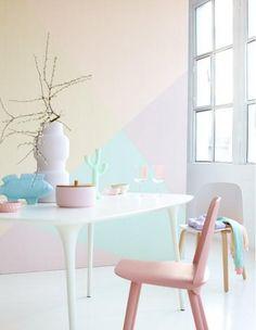 Möbel in Pastell - von zartem Rosa bis Himmelblau