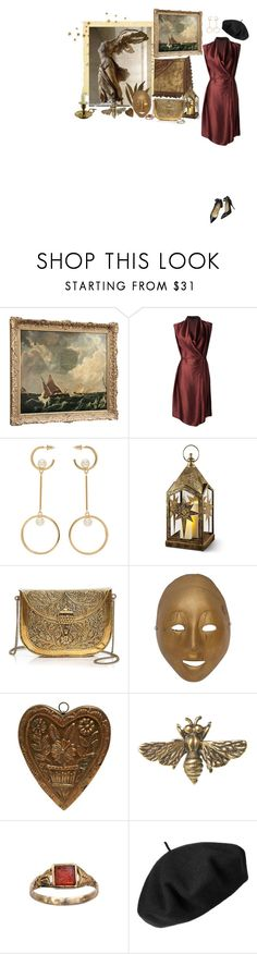 """paris holds the key to my heart"" by babytangerine ❤ liked on Polyvore featuring Lanvin, Valentino, Chloé, Improvements, From St Xavier, Alkemie and Betmar"