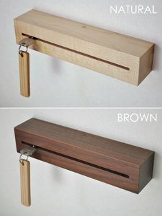 Completing Wood Projects With Ease – WoodworkeRealm Wood Furniture, Furniture Design, Objet Deco Design, Wooden Key Holder, Small Wood Projects, Wood Creations, Woodworking Projects Diy, Diy Home Crafts, Wood Design