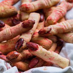 Halloween-Finger-Kekse