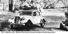 1953 MONTE CARLO RALLY - Citroen 15/6. Drivers: R. Marion / J. Charmasson. Place: 3rd o/a.