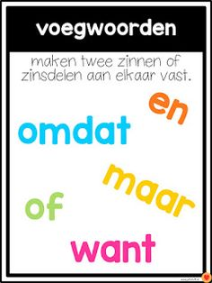 Juf-Stuff: Posters woordsoorten I Love School, School Tool, School Hacks, Learn Dutch, Learn English, Learning Quotes, Kids Learning, Education Logo Design, Education Posters
