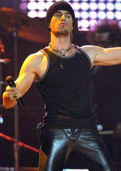 Enrique Iglesias in Leather
