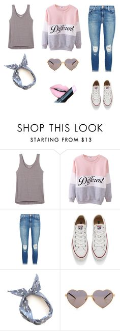 """""""003 • Pastels •"""" by fluorescent-flowers ❤ liked on Polyvore featuring Rebecca Minkoff, J Brand, Converse, Wildfox, Fiebiger, women's clothing, women, female, woman and misses"""