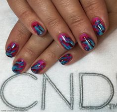 Your nails should reflect your creativity, and these scream Art Vandal!
