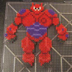 Baymax Big Hero 6 perler beads by Flood7585
