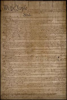 U.S. Constitution lesson plans