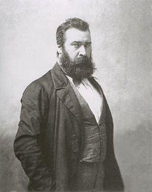 Jean Francois Millet portrait by Nadar.